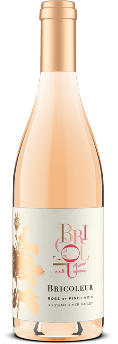 2018 Rosé of Pinot Noir bottle