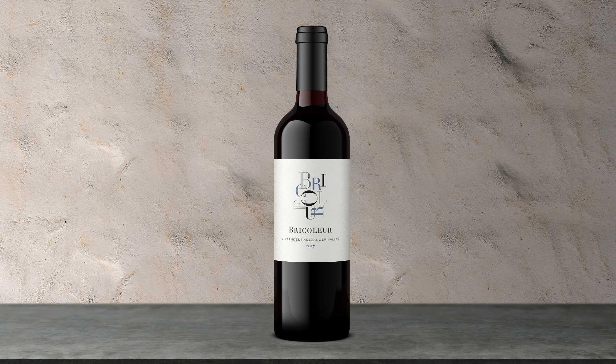 2017 Old Vine Zinfandel bottle