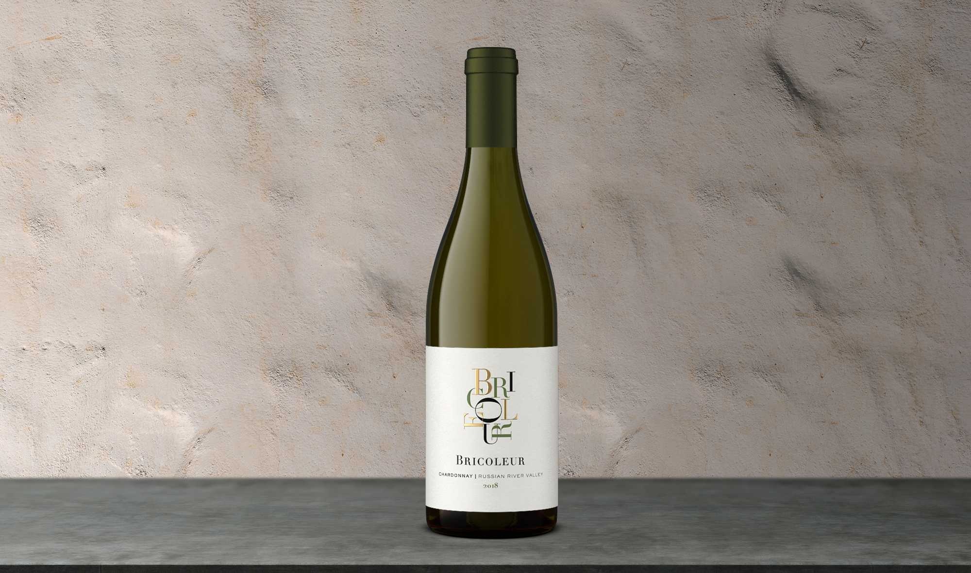 2018 Estate Chardonnay bottle