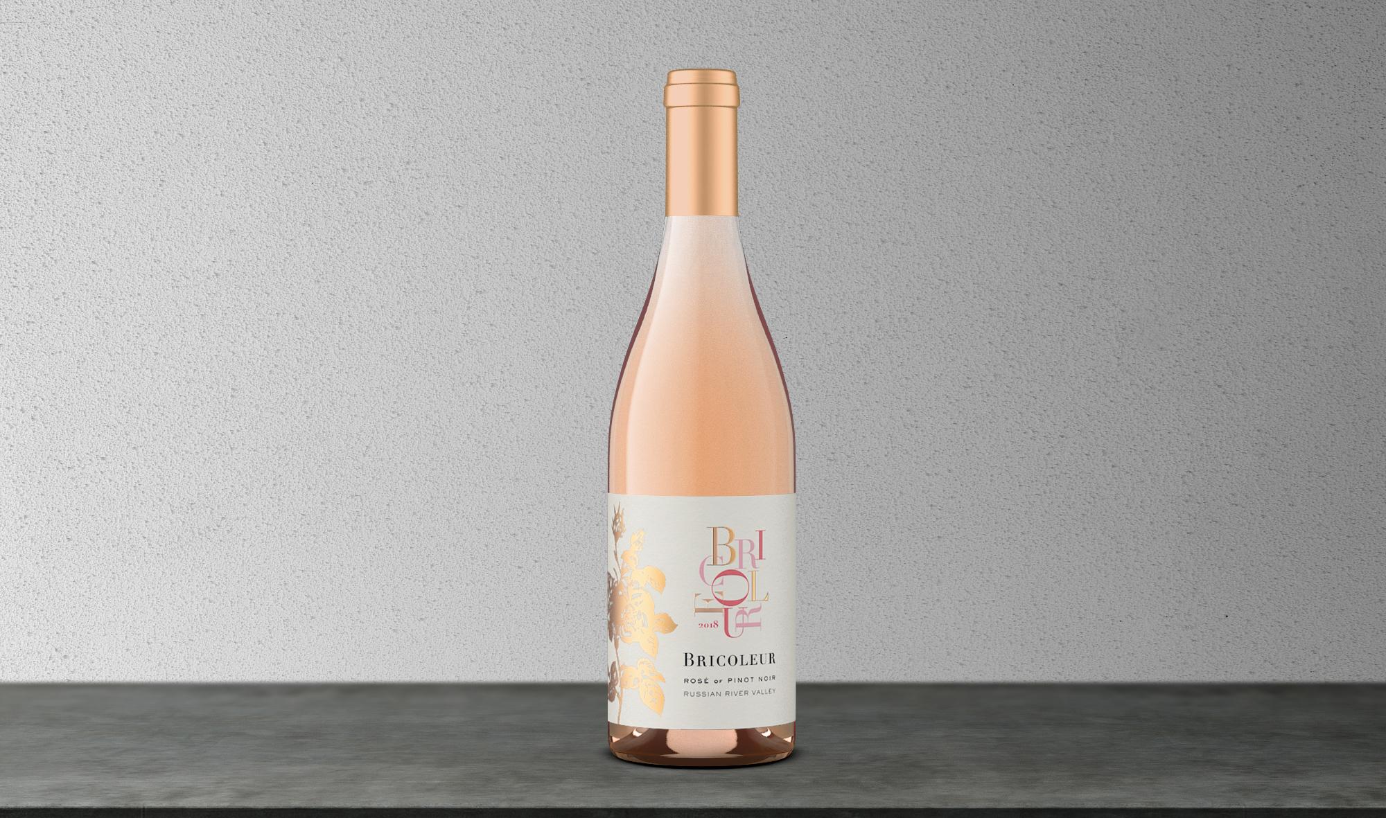 2019 Rosé of Pinot Noir bottle