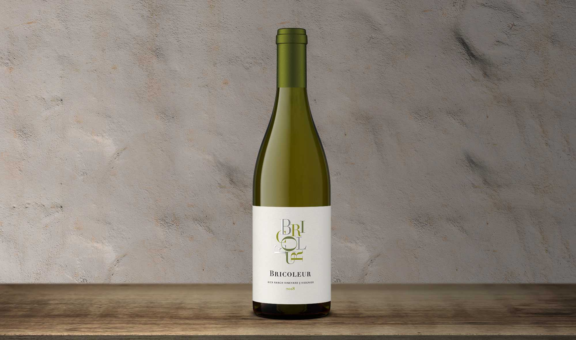 2019 Kick Ranch Viognier bottle